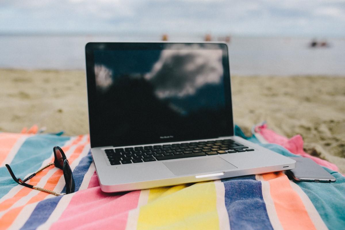 Onlineterapi på ferie