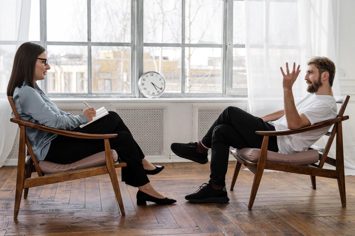 Samtaleterapi på kontoret